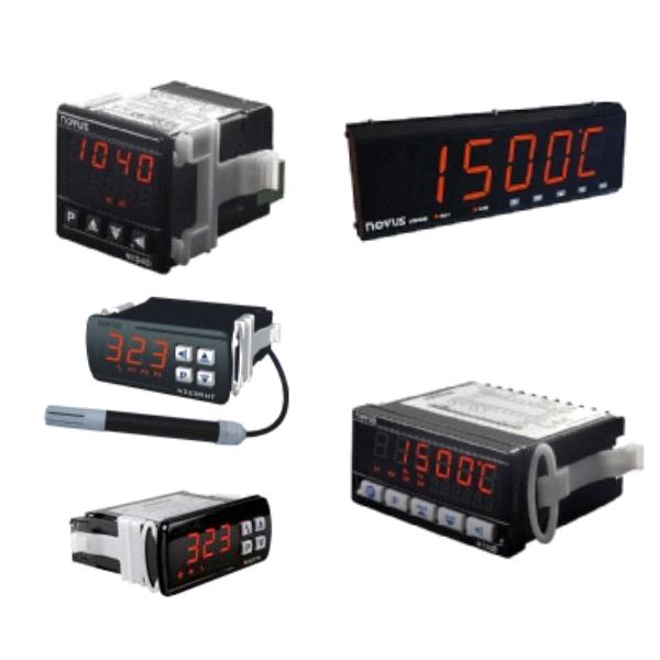 Indicadores e Termostatos -  Instrumentos Medição