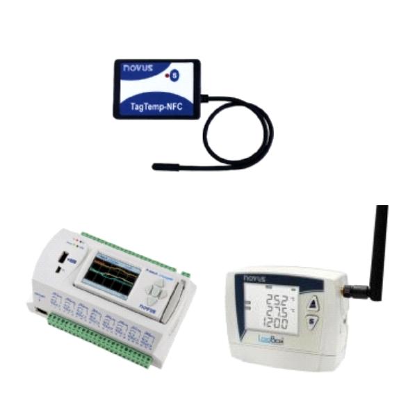 Data Loggers -  Instrumentos Medição
